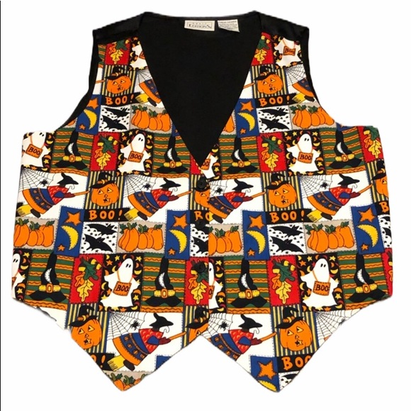 Basic Editions Jackets & Blazers - Halloween vest
